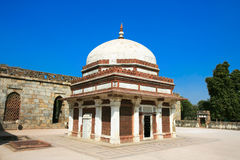Famous muslim Column, Qutb Mina Stock Image