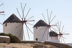 Famous Mykonos Mill Royalty Free Stock Photo