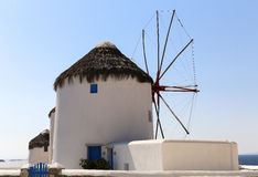 Famous Mykonos Mill Royalty Free Stock Image