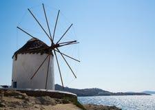 Famous Mykonos Mill Stock Photo