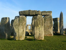 The famous and mysterious Stonehenge in England. Stock Photos