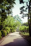 Famous Nagoya Castle in Japan Stock Image