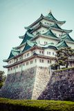 Famous Nagoya Castle in Japan Stock Images