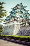 Famous Nagoya Castle in Japan Stock Photography