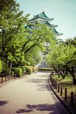 Famous Nagoya Castle in Japan Royalty Free Stock Images