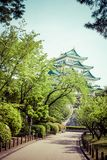 Famous Nagoya Castle in Japan Royalty Free Stock Photos