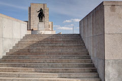 Famous National Memorial - Jan Zizka statue Stock Photos