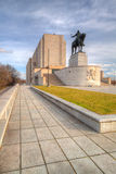 Famous National Memorial - Jan Zizka statue Royalty Free Stock Photos