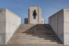 Famous National Memorial - Jan Zizka statue Royalty Free Stock Photography