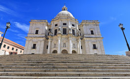 Famous National Pantheon in Lisbon, Portugal. Stock Photography