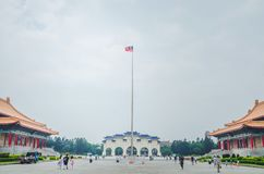 Famous National Theater Hall of Taiwan at National Taiwan Democracy Square of Chiang Kai-Shek Memorial Hall,Taipei, Taiwan. Taipei, Taiwan - May 13, 2019: Famous stock images