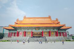 Famous National Theater Hall of Taiwan at National Taiwan Democracy Square of Chiang Kai-Shek Memorial Hall,Taipei, Taiwan. Taipei, Taiwan - May 13, 2019: Famous royalty free stock images