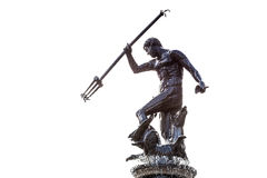 Famous Neptune fountain in Gdansk. Famous Neptune fountain, symbol of Gdansk, Poland Stock Image