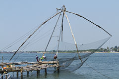 Famous nets of cochin Stock Photography