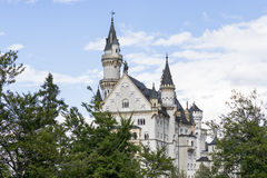 Famous Neuschwanstein Castle in Bavaria, Germany Royalty Free Stock Photography