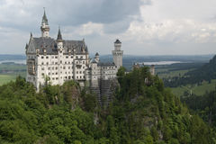 Famous Neuschwanstein Castle, Germany Royalty Free Stock Images
