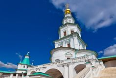 Tower in New Jerusalem monastery - Istra Russia Stock Photo
