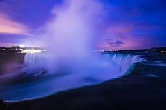 Niagara Falls Nagara River Canada. Famous Niagara Falls Niagara River international landmark famous place Ontario Canada stock photography