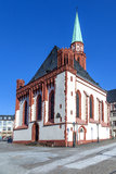 Famous Nikolai Church in Frankfurt am Main Stock Photo
