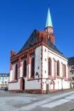 Famous Nikolai Church in Frankfurt am Main Stock Photo