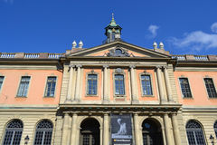 Famous Nobel Academy in Stockholm Stock Image