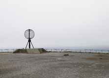 The famous North Cape in Norway. Royalty Free Stock Images