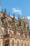 Famous Notre Dame de Strasbourg Stock Photos