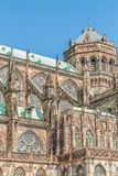 Famous Notre Dame de Strasbourg Royalty Free Stock Photography