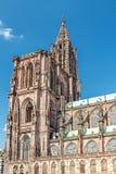 Famous Notre Dame de Strasbourg Stock Photo