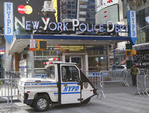 Famous NYPD Times Square Precinct in Midtown Manhattan Royalty Free Stock Photo