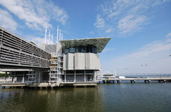 Famous oceanarium in Lisboa(Portugal) Stock Photo
