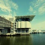 Famous oceanarium in Lisbon(Portugal) Stock Images