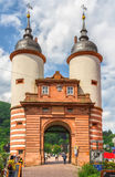 Famous Old Bridge Gate. Stock Images