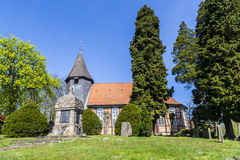 Famous old church in Osterheide Royalty Free Stock Image