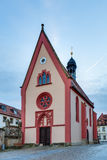 Famous Old Church in the Sandstrasse of Bamberg Royalty Free Stock Images