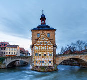 Famous Old City Hall of Bamberg Stock Image