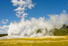 Old Faithful, Yellowstone National Park royalty free stock photo