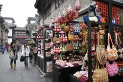 Famous Old Jinli Street Chengdu Sichuan China royalty free stock photo