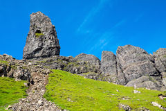 The famous Old Man of Storr Stock Images