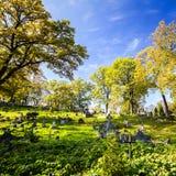 Famous old Rasu cemetery in Vilnius, Lithuania Stock Photo