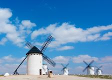 Windmills Campo de Criptana Royalty Free Stock Images