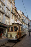 Famous old tram in Porto Royalty Free Stock Photos
