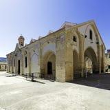 Famous Omodos Monastery. In Cyprus stock photos