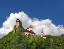 Famous Orava Castle, Slovakia Stock Photo