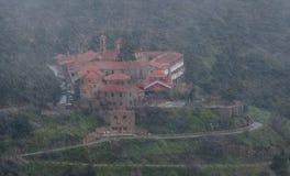 Famous orthodox monastery of Machairas in Cyprus Stock Photography