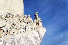 The famous Padrao dos Descobrimentos Royalty Free Stock Photo