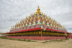 The famous pagodas Stock Photos