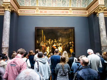 The famous painting  Stock Photo