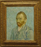 Famous Painting - self-portrait Vincent van Gogh  Stock Image