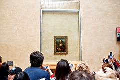 The famous painting Monalisa 2 Royalty Free Stock Photo